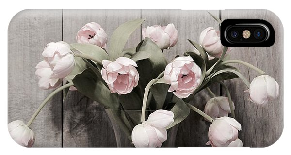 Bouquet Of Tulips IPhone Case