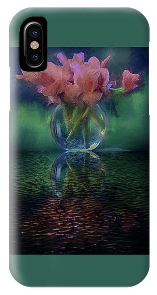Bouquet Reflected IPhone Case