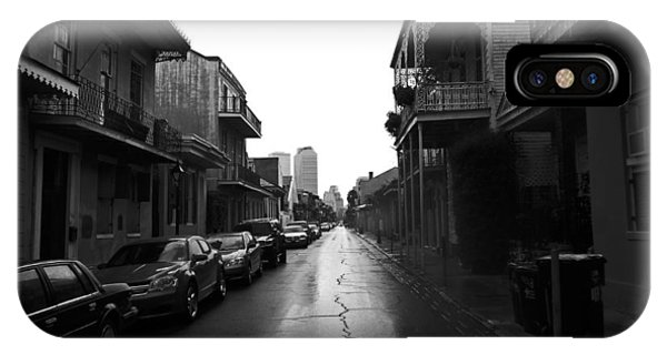 Bourbon Street In The Rain IPhone Case