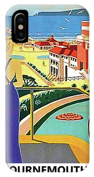 Bournemouth iPhone Case - Bournemouth For Health And Pleasure by Long Shot