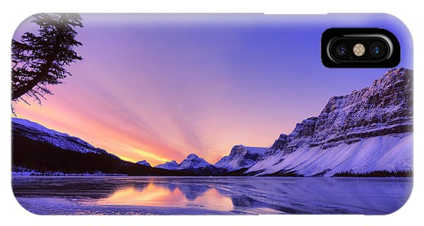Bow Lake And Pine IPhone Case