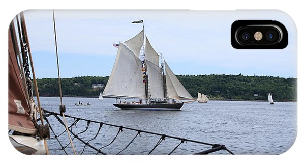 Bowditch Under Full Sail IPhone Case