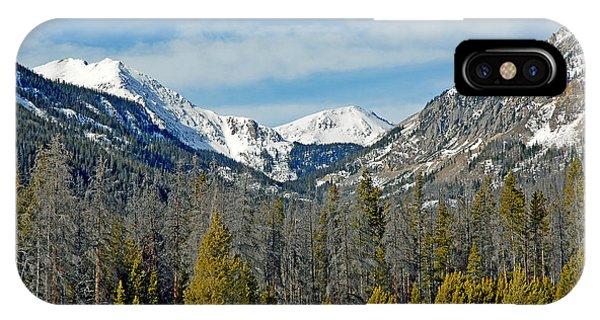 Bowen Mountain In Winter IPhone Case