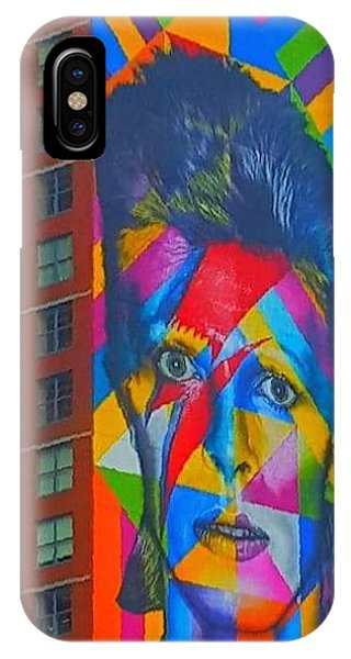 Bowie Phone Case by Stacey Brooks