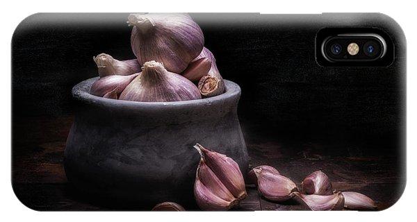 Bowl Of Garlic IPhone Case