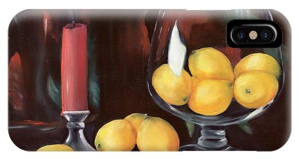 Bowl Of Lemons IPhone Case