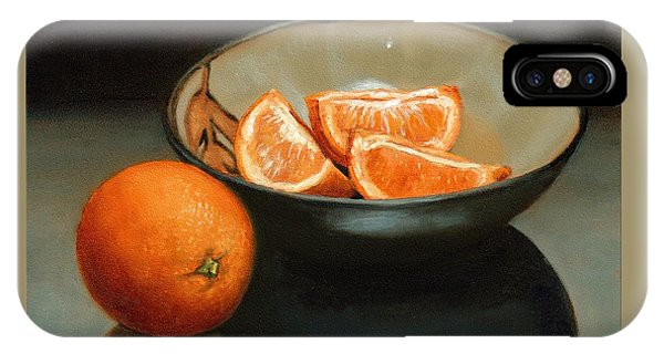 Bowl Of Oranges IPhone Case