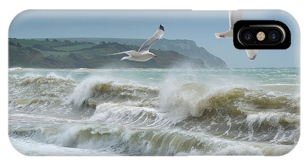 Bowleaze Cove IPhone Case