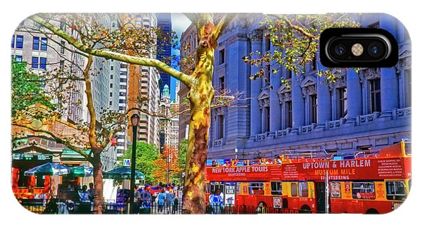 Bowling Green Station Nyc IPhone Case