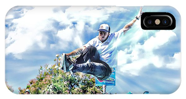 Bowlriders, Skateboarder IPhone Case