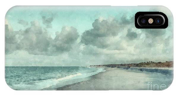 Condo iPhone Case - Bowman Beach Sanibel Island Florida by Edward Fielding