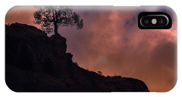 Box Canyon Sunset IPhone Case