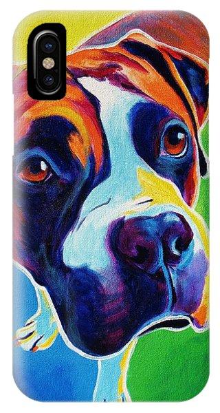 Boxer - Leo IPhone Case