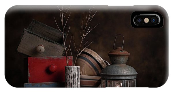 Twig iPhone Case - Boxes And Bowls by Tom Mc Nemar