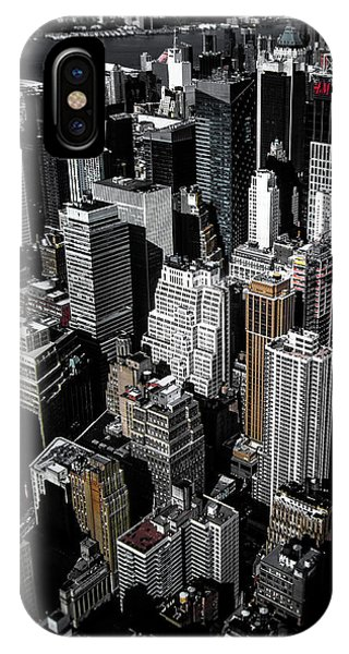 Broadway iPhone Case - Boxes Of Manhattan by Nicklas Gustafsson