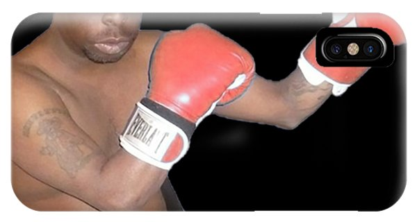 Howard Stern iPhone Case - Boxing by Duku Twin