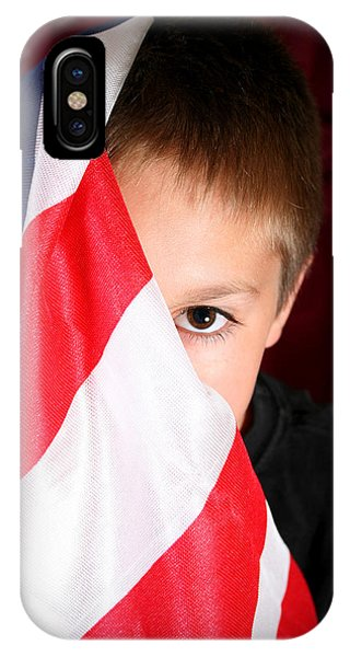 Boy And His Country IPhone Case
