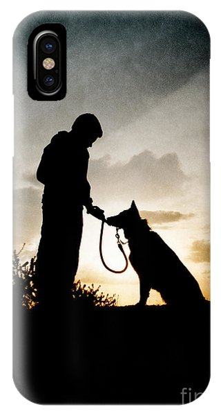 Boy And His Dog IPhone Case