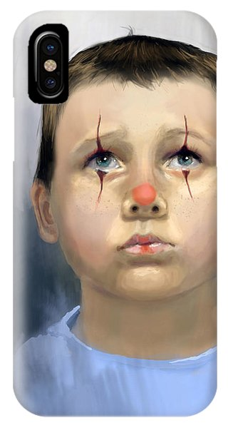 Boy Clown IPhone Case