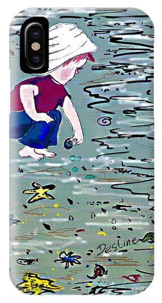 Boy On Beach IPhone Case