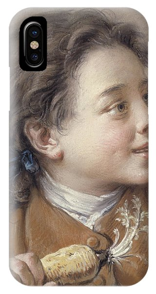 Boy With A Carrot, 1738 IPhone Case