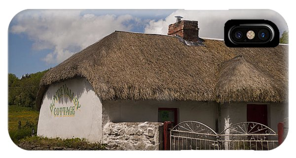 Boyne Valley Cottage Phone Case by Philippe Boite