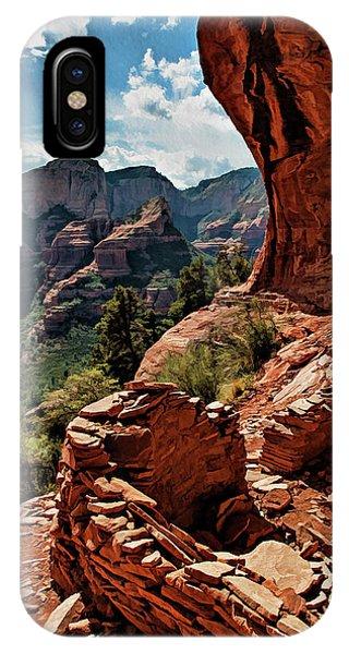 Boynton iPhone Case - Boynton Canyon 08-160 by Scott McAllister