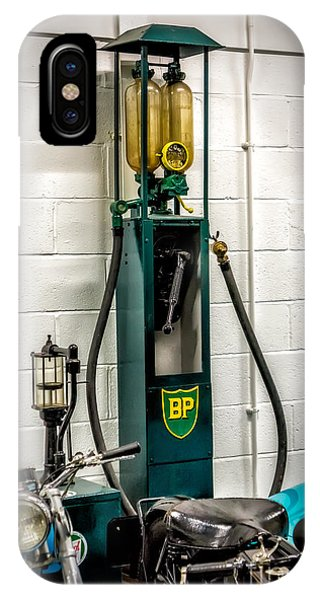 Gas Station iPhone Case - Bp Gas Pump by Adrian Evans