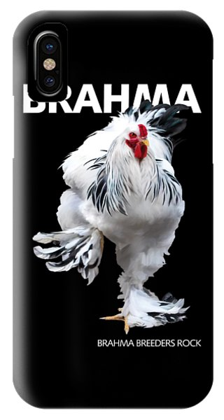 Brahma Breeders Rock T-shirt Print IPhone Case