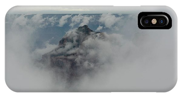 Brahma Temple In A Sea Of Clouds IPhone Case