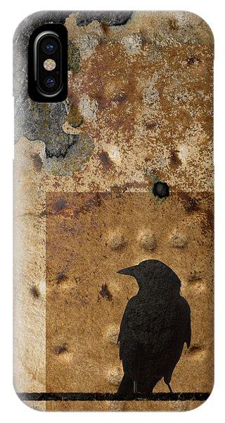 Braille Crow IPhone Case