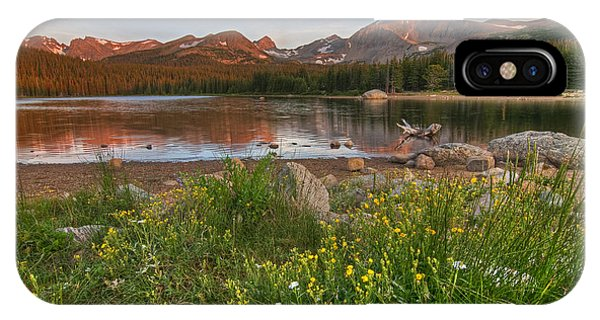 IPhone Case featuring the photograph Brainard Lake by Gary Lengyel