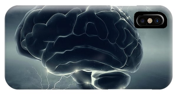 Energy iPhone Case - Brainstorm by Johan Swanepoel