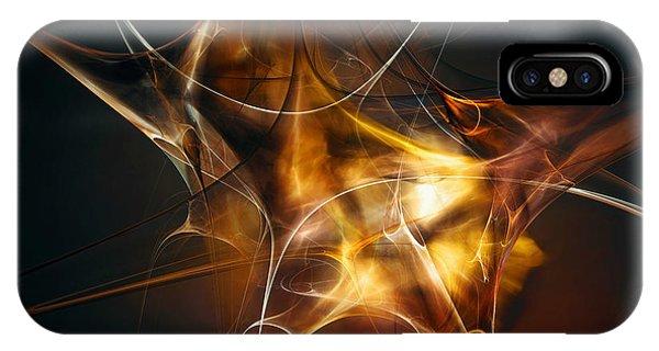 Fractal iPhone Case - Brainstorm by Scott Norris