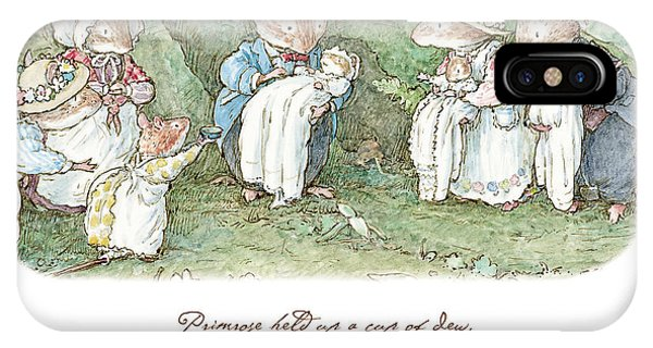 Ceremony iPhone Case - Brambly Hedge Naming Ceremony by Brambly Hedge