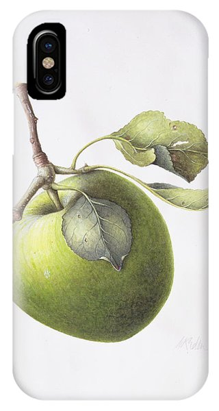 Organic Foods iPhone Case - Bramley Apple by Margaret Ann Eden