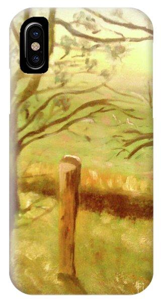 Brampton Valley Way IPhone Case