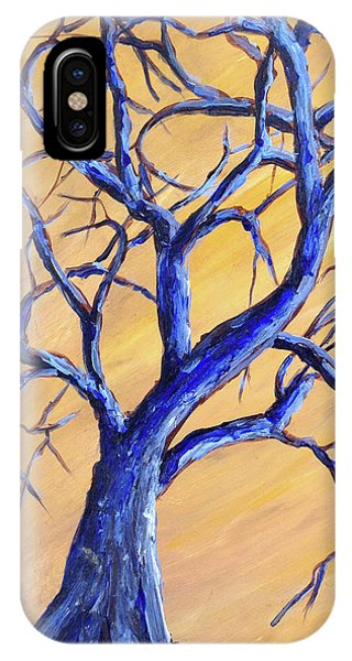 Branches Of Blue IPhone Case