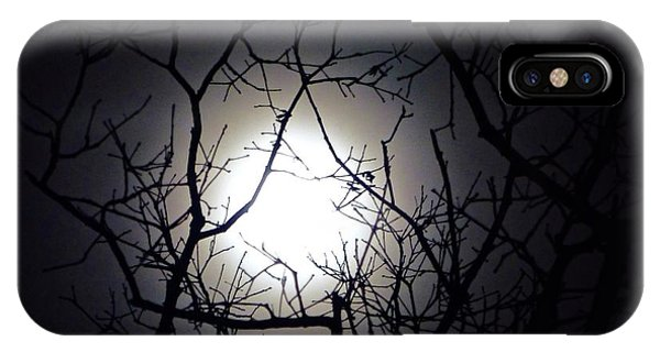 Branches To The Moon IPhone Case