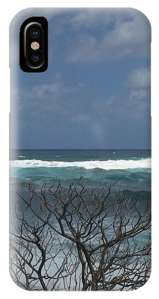 Branches Waves And Sky IPhone Case