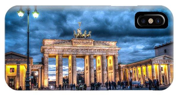 Brandenberg Gate IPhone Case