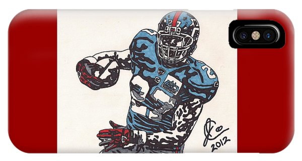 Brandon Jacobs 1 IPhone Case
