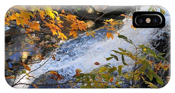 D30a-18 Brandywine Falls Photo IPhone Case