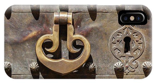 Brass Castle Knocker IPhone Case