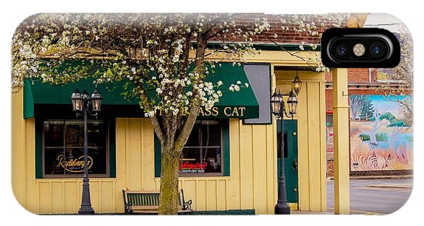 Brass Cat Pub Easthampton IPhone Case
