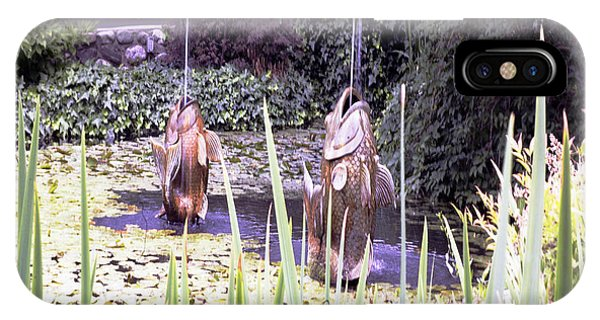 Brass Fish Descanso Gardens  IPhone Case