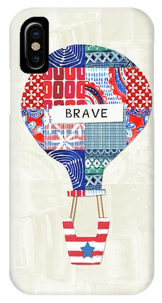 Election iPhone Case - Brave Balloon- Art By Linda Woods by Linda Woods