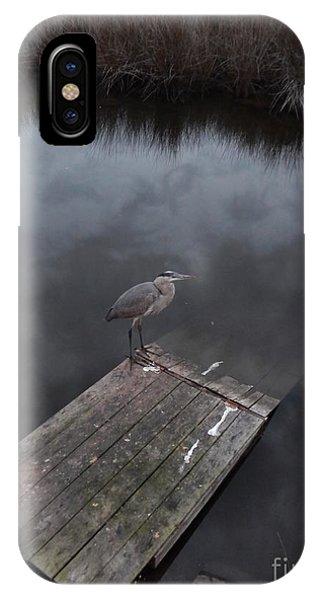 Brave Heron IPhone Case
