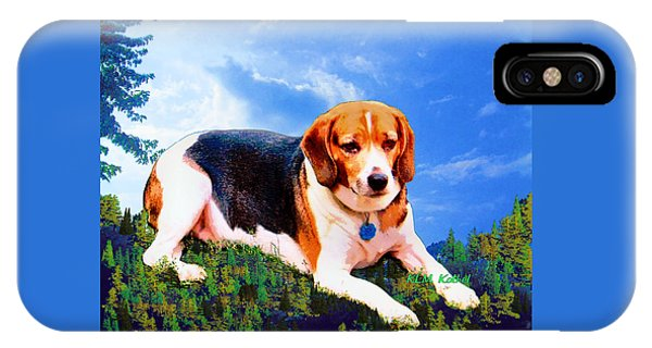 Bravo The Beagle IPhone Case