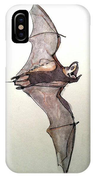 Brazilian Free-tailed Bat IPhone Case